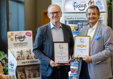 Frozzys® awarded gold at 2021 PetQuip Awards